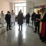 Nel giorno dei Santi patroni il Vescovo benedice Scala 4.0
