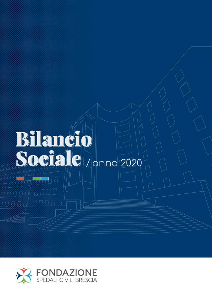 Pubblicato il Bilancio Sociale dell'anno 2020
